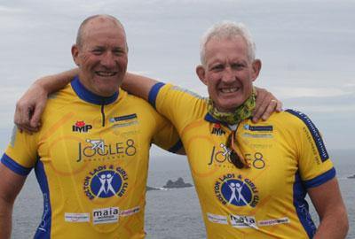 Vincent Kelly (left) and Mark Brocklehurst
