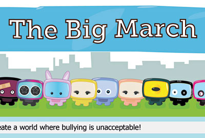 Beatbullying's Big March campaign