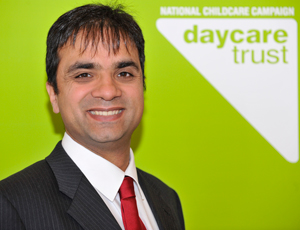 Anand Shukla, acting chief executive of the Daycare Trust