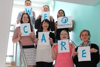 Scope's Britain Cares campaign