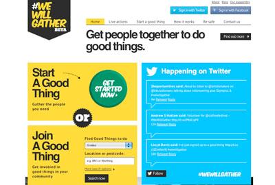 #WeWillGather website