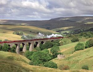The locomotive Leander