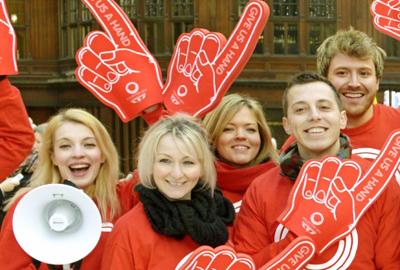 Glasgow 2014 volunteers