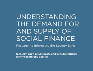 Big Society bank research
