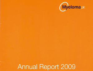 Myeloma UK's annual report