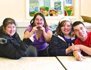 Mencap and Enebale Scotland teamed up with the Co-operative Group