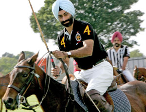 Indian polo stars