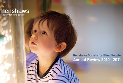 Henshaws Society for Blind People's annual review