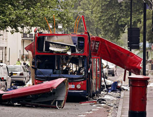 Terrorists attacked London in 2005
