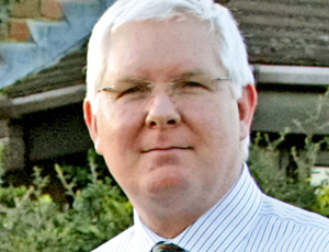 Mike Keel, chief executive Keech Hospice Care