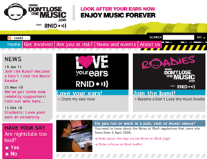 RNID's Don't Lose the Music campaign