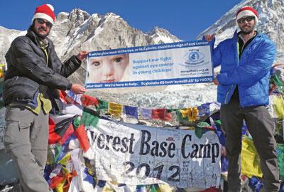 Everest trek: a partnership fundraiser