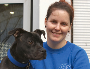 Georgina Barrington, animal welfare assistant, Battersea Dogs & Cats Home