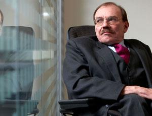 Lifetime achievement winner Sir Bert Massie