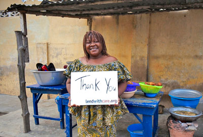 Lendwithcare.org supports entrepreneurs in developing countries