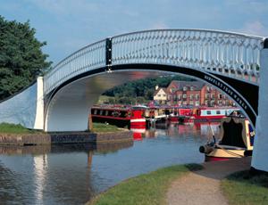 A bridge in Braunston