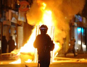 England riots