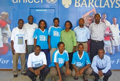 Barclays and Unicef UK