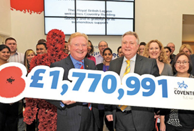 Coventry Building Society and the Royal British Legion
