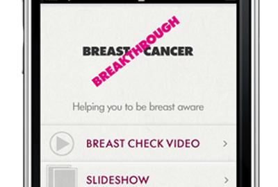 Breakthrough Breast Cancer app