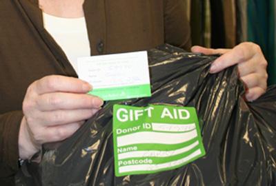 Sue Ryder Care's Gift Aid scheme