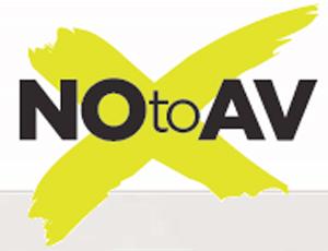 No to AV campaign