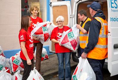 Clothes Aid collectors