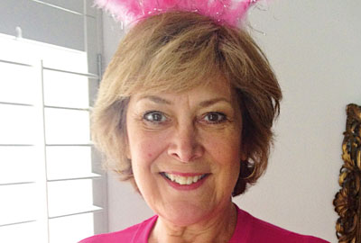 Lynda Bellingham supports the Florence Nightingale Hospice Charity