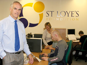 Christopher Knee, chief executive, St Loye's Foundation