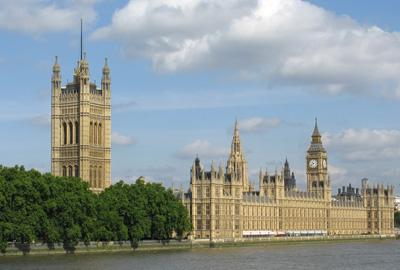 Big Ben in the heart of Westminster