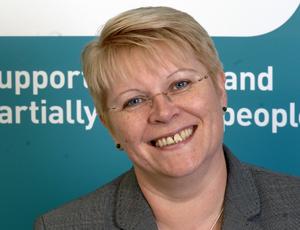 Lesley-Anne Alexander, chief executive of the RNIB