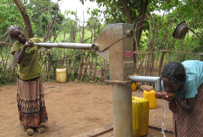 A well in Borena, Ethiopia