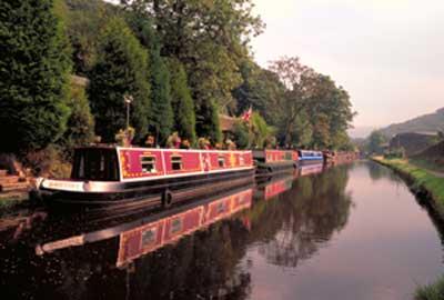 A canal in Rochdale