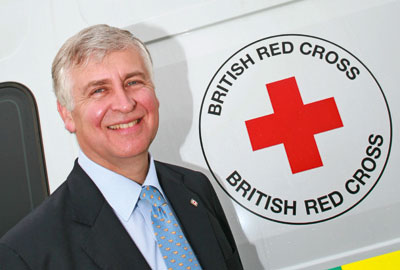 Sir Nick Young, chief executive, the British Red Cross