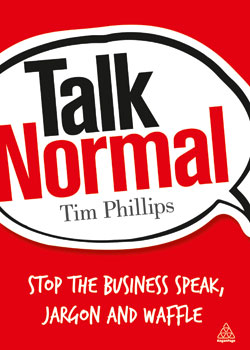Talk Normal, by Tim Phillips