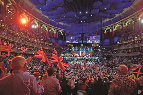 Royal Albert Hall during the Proms