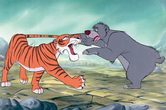 Shere Khan and Baloo: remind you of anyone?