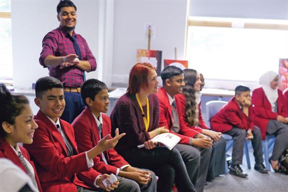 DRM runs workshops in schools