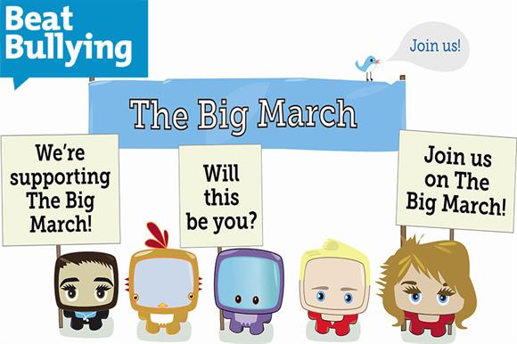 The Big March: a BeatBullying initiative from the past