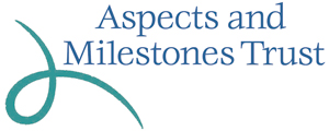 The Aspects and Milestones Trust logo