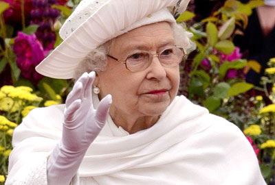 HM the Queen during last weekend's river pageant