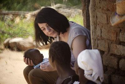 Jodie Sandford visited Zimbabwe for Oxfam