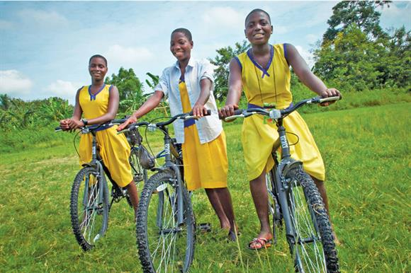 Unwanted bikes have been used by an estimated 120,000 people