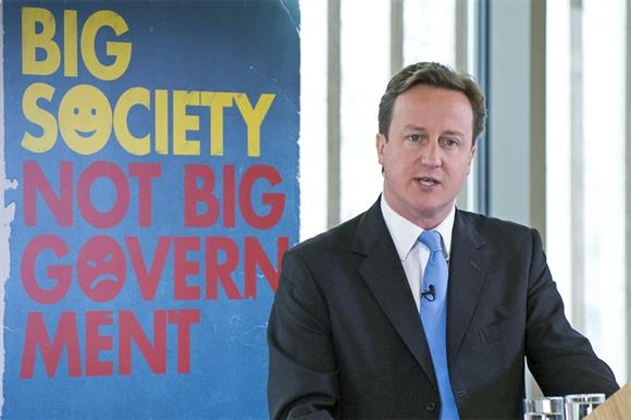 David Cameron first set out his vision of the big society in 2009