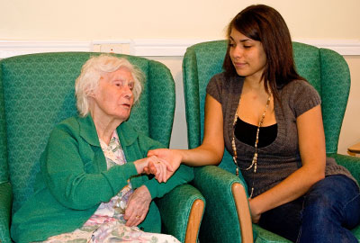 Volunteering in care homes
