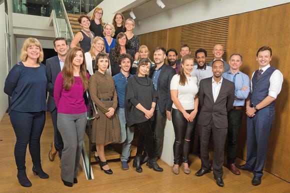 The 2016 Clore Social fellows