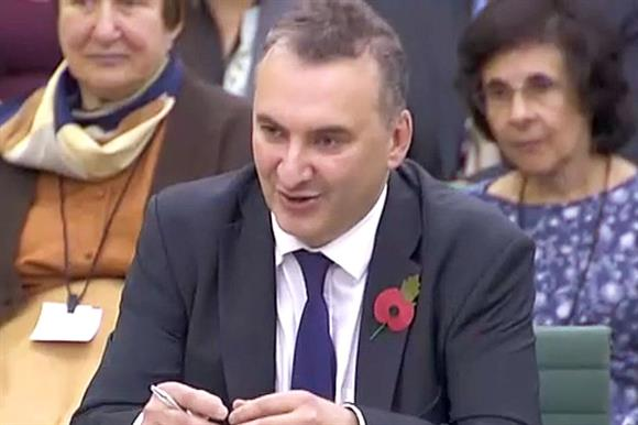 Chris Wormald at yesterday's hearing