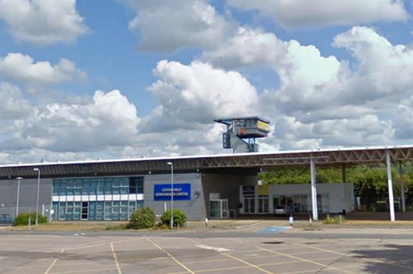 Christ Embassy headquarters in Folkestone, Kent