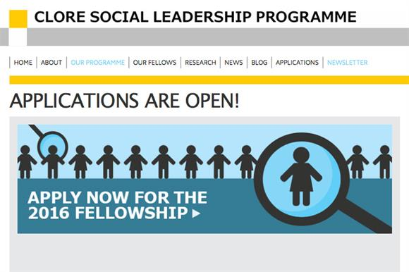 Applications now open for the programme