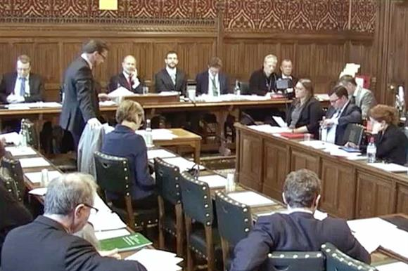 The shadow minister's amendment was met with government opposition